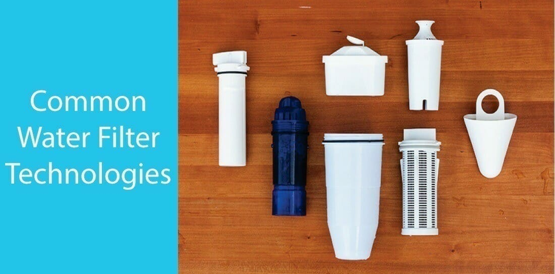 The basics of common water filter technologies