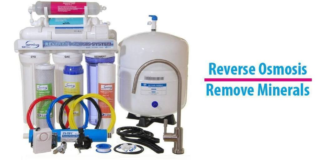 How To Remove Minerals From Water