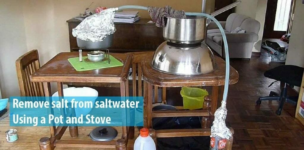 How To Remove Salt From Saltwater