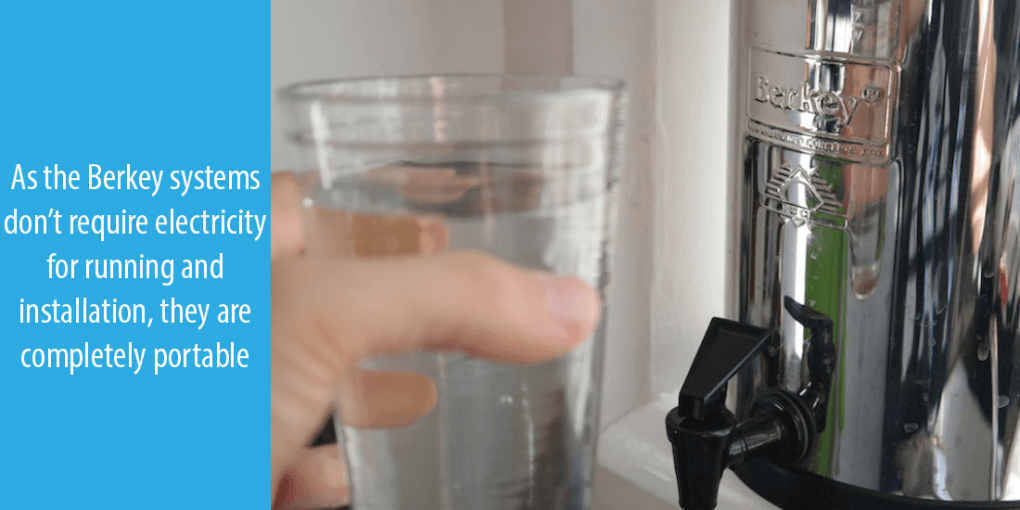what are the advantages of Berkey water filter