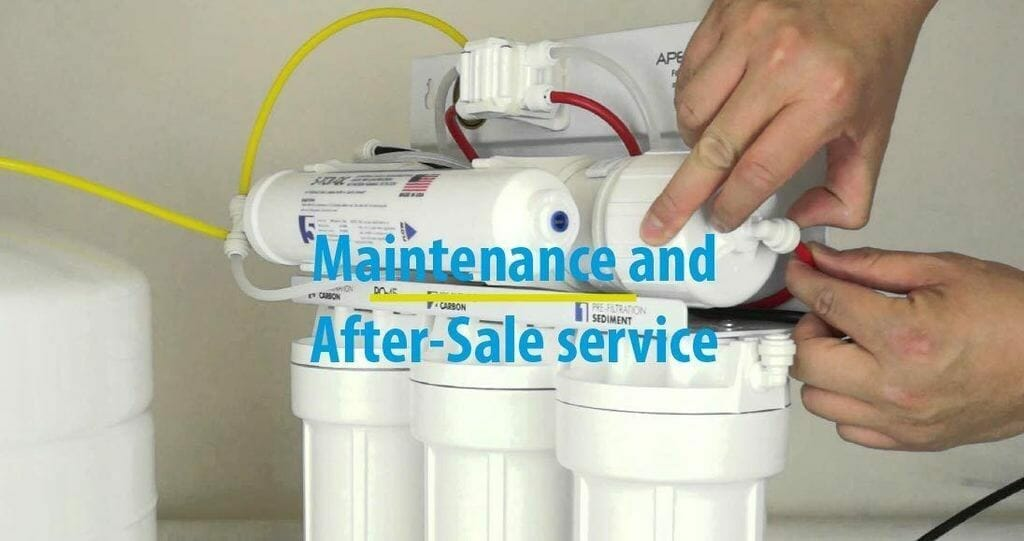 Maintenance and After-Sale service