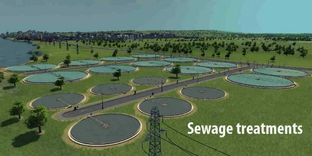 Sewage treatments