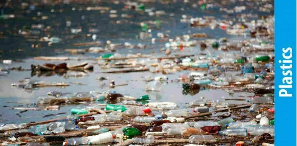 What are the causes of water pollution - plastics
