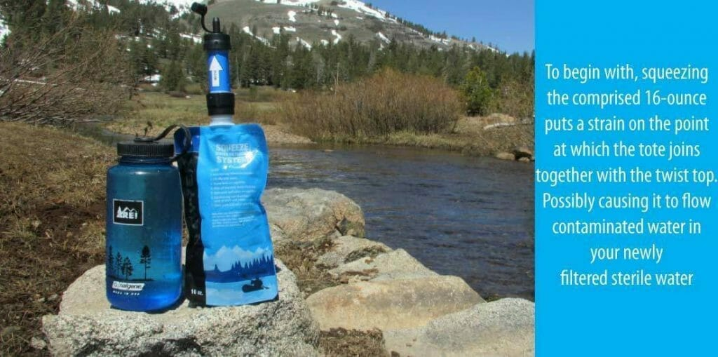 Grievances of Sawyer Products Mini Water Filter