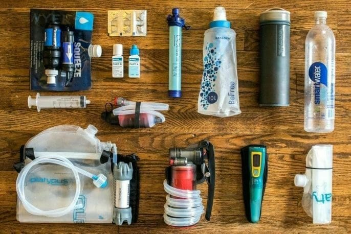 Backpacking  Water Filters vs Water Purifiers