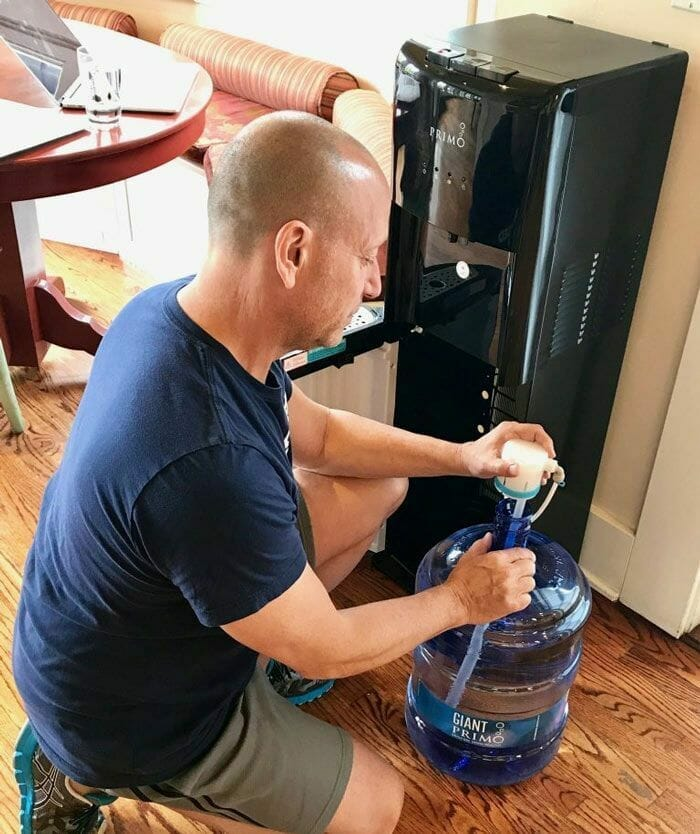 Cleaning Cold Reservoir and Water Lines
