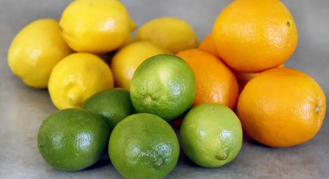 Orange, Lime, and Lemon