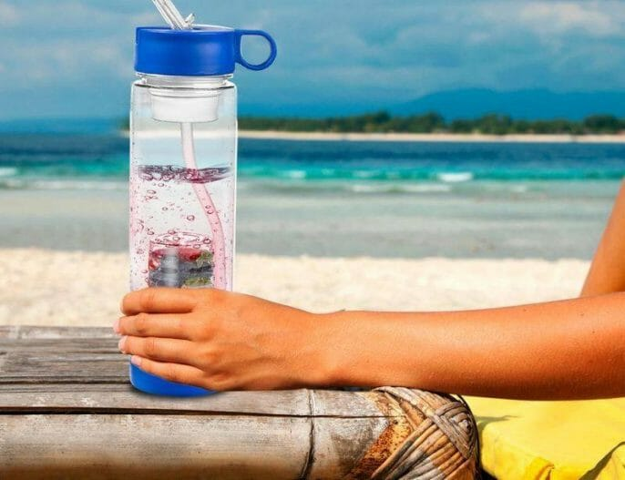 Use a Water Bottle That Filters And Infuses Your Water With Ionic Minerals