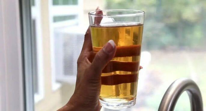 Water Softener Makes Water Brown
