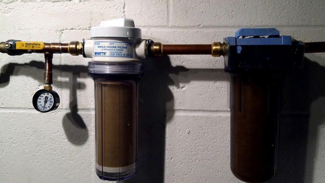 Choosing A Whole House Filter For Well Water