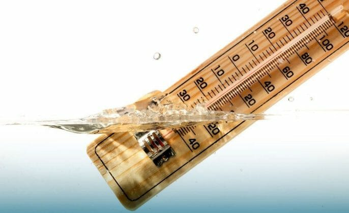 Consider the Ground Water Temperature