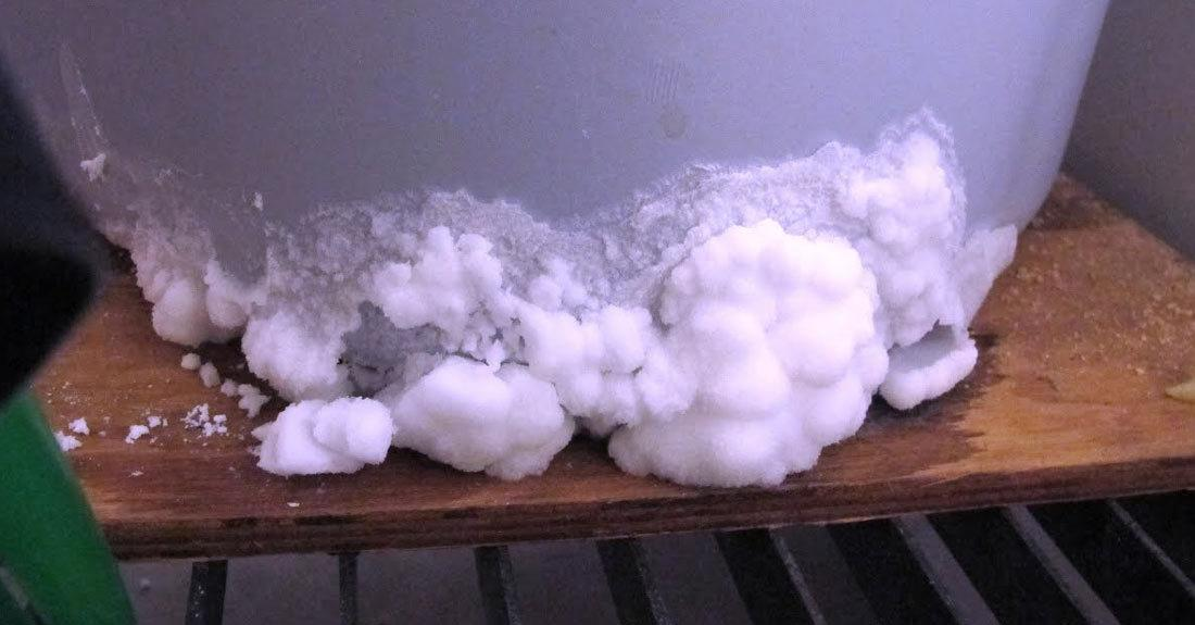 What should you do when your softener is leaking?